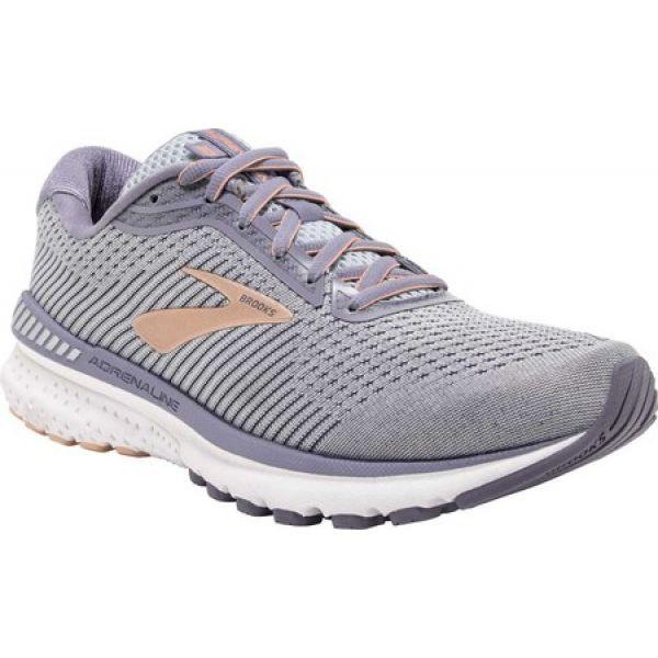 (お得な特別割引価格) ブルックス Brooks レディース ランニング・ウォーキング シューズ・靴 Adrenaline GTS 20 Running Shoe Grey/Pale Peach/White, 海心 009ce55a