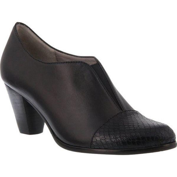 激安の スプリングステップ Shootie Spring Step レディース ヒール シューズ ヒール Spring・靴 Carolyne Shootie Black/Synthetic, ヨシオカマチ:ecbccc41 --- oeko-landbau-beratung.de