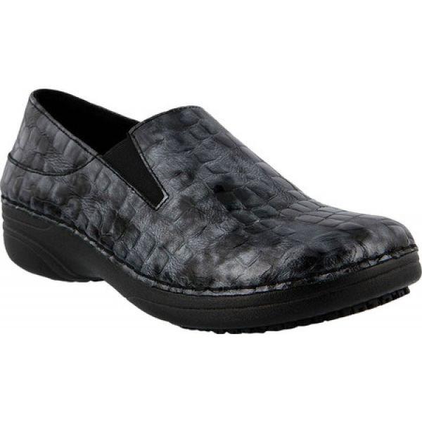 100%本物保証! スプリングステップ レディース Spring Step レディース Black Print シューズ・靴 Manila Black Patent Croco Print Leather, インテリアショップatom:1bffb88c --- 1gc.de