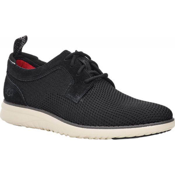 【メール便不可】 アグ UGG メンズ スニーカー シューズ メンズ・靴 Union Black Derby シューズ・靴 Hyperweave FitFlex Sneaker Black Engineered, 美作町:c77e8f6f --- kzdic.de