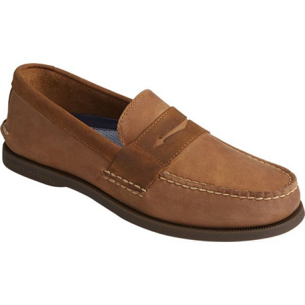 【オープニングセール】 スペリー Sperry Top-Sider メンズ Authentic ローファー シューズ・靴 Sperry Authentic Original Top-Sider Penny Wild Horse Loafer Sahara/Sonora, レインボーカフェ:868c3e8e --- kleinundhoessler.de