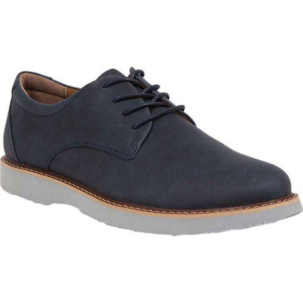 特別価格 ディール スタッグス Deer Stags メンズ 革靴・ビジネスシューズ シューズ・靴 Walkmaster Plain Toe Oxford Navy Nubuck /Synthetic, トライテック 通販部 72f99a45