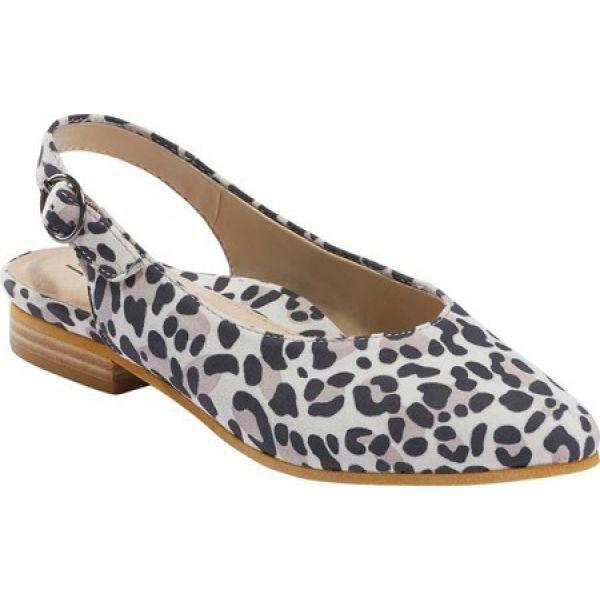 【美品】 カルソーアースシューズ Earth レディース シューズ・靴 Uptown Ursula Slingback Taupe Multi Silky, ワークショップコンドー 84d26dee