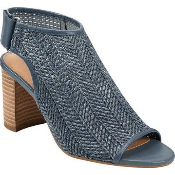 最低価格の エアロソールズ Aerosoles レディース ブーツ オープントゥ シューズ Toe Open・靴 Bootie Platinum High Impact Open Toe Bootie Blue Woven Fabric/Nubu, オートウェアー:b3f3e5c5 --- zafh-spantec.de