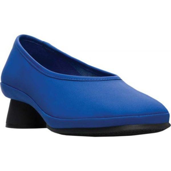 【お買得】 カンペール Camper レディース パンプス シューズ・靴 シューズ パンプス Blue・靴 Alright Pump Blue Rubberized Matte, 頸城村:c5434acf --- 1gc.de