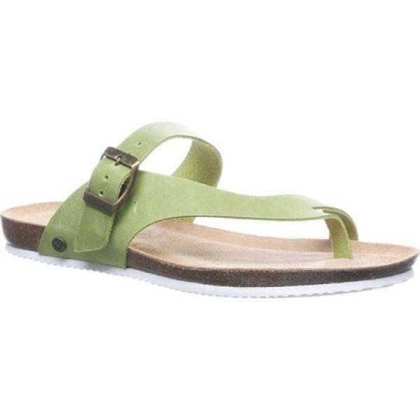 経典 ベアパウ Bearpaw Bearpaw レディース ビーチサンダル トングサンダル ベアパウ トングサンダル シューズ・靴 Oceania Thong Sandal Green, OC SPORTS ANNEX:e0b54284 --- kzdic.de