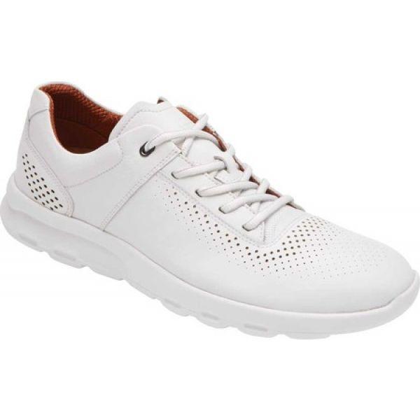 【大放出セール】 ロックポート Rockport メンズ スニーカー シューズ・靴 Lets Walk Walk Plain メンズ スニーカー Toe Sneaker White, かわいい雑貨のお店 まーぶる:8d47d602 --- 1gc.de