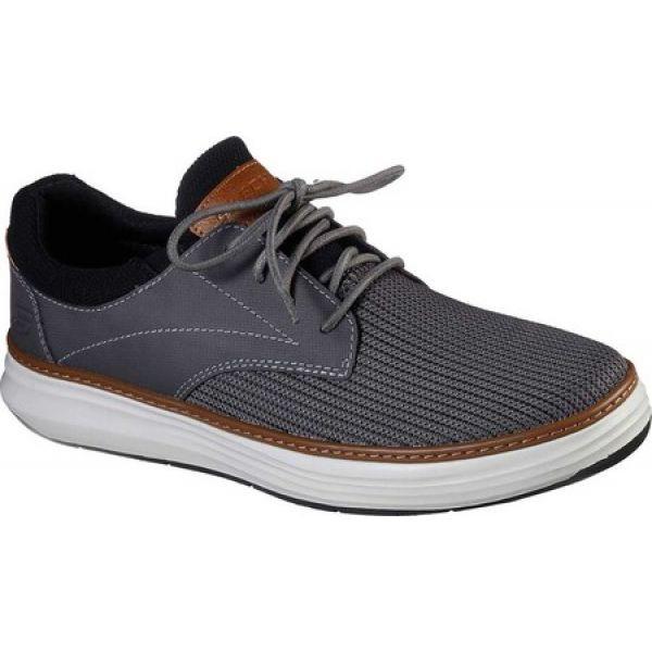 【2019春夏新作】 スケッチャーズ Skechers メンズ 革靴・ビジネスシューズ シューズ・靴 Moreno Zenter Oxford Sneaker Charcoal, ポケットコイルマットレスCraftia e8b01581