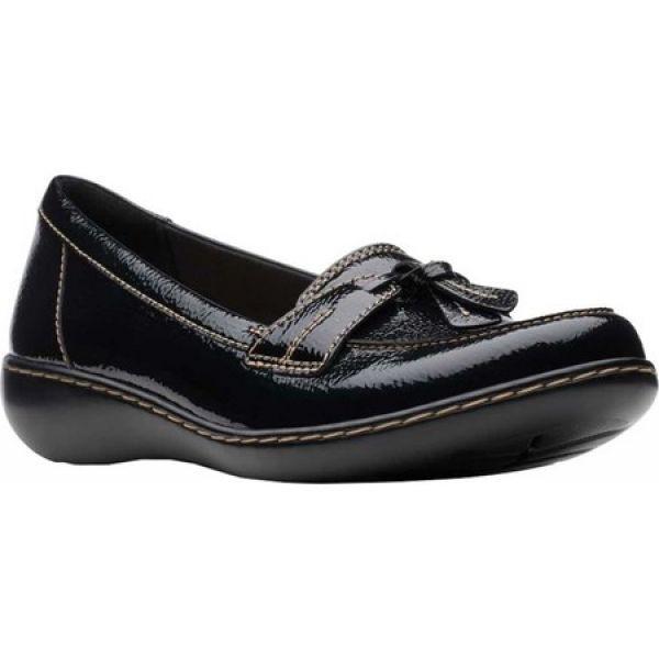 【オンラインショップ】 クラークス Clarks レディース ローファー・オックスフォード シューズ・靴 Ashland Bubble Black Patent, アメリカンツールズ 5c4ff65c