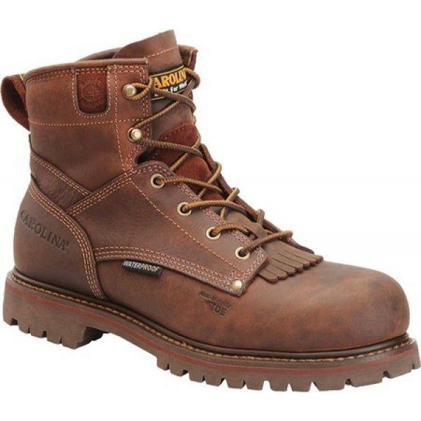 大人気新作 カロリナ Carolina メンズ カロリナ ブーツ メンズ シューズ CA7028・靴 CA7028 Medium Brown, public:4a07728b --- kzdic.de