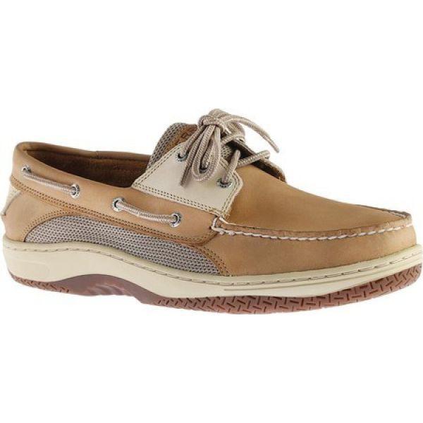 激安先着 スペリー Sperry Top-Sider メンズ デッキシューズ シューズ・靴 Billfish 3-Eye Boat Shoe Tan/Beige, うなぎのぼり 9c7e0cb6