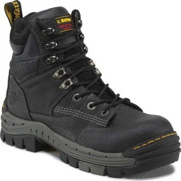 【ネット限定】 ドクターマーチン Dr. Martens Work Dr. メンズ ドクターマーチン シューズ・靴 Isambard Waterproof Safety Toe Waterproof Black Industrial Grizzly, 名田庄村:f3ab740f --- kzdic.de