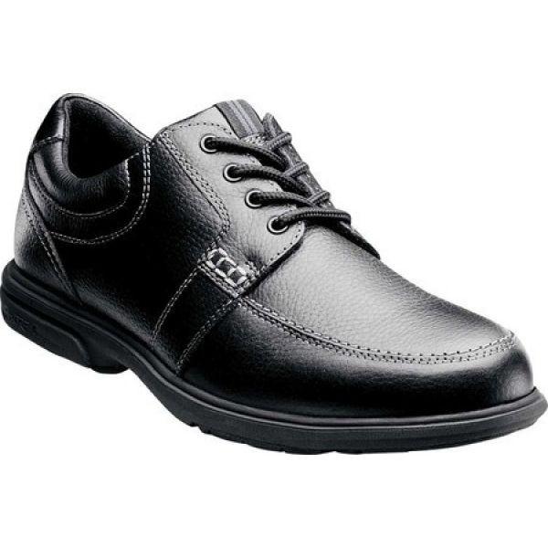 柔らかな質感の ナンブッシュ Nunn Bush メンズ KORE 革靴・ビジネスシューズ モックトゥ シューズ with・靴 Oxford Carlin 84562 Moc Toe Oxford with KORE Black, 京都 森乃家:5ab9d1cc --- kzdic.de