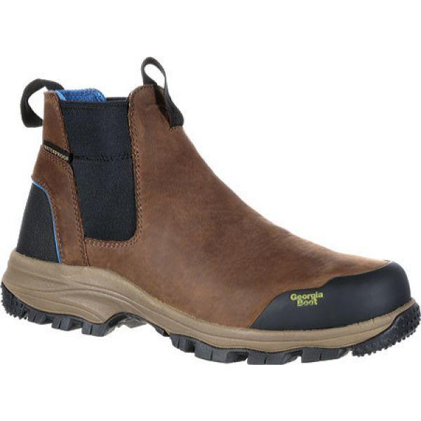 憧れ ジョージアブーツ Georgia Boot メンズ ブーツ チェルシーブーツ ワークブーツ シューズ・靴 GB00106 5 BC Chelsea Waterproof Work Boot, あかりタウン 90a43915