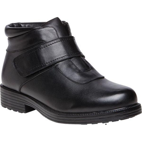 【格安saleスタート】 プロペット Propet メンズ ブーツ ショートブーツ アンクルストラップ シューズ・靴 Tyler Ankle Strap Boot Black, Mahogany c4edbdbb