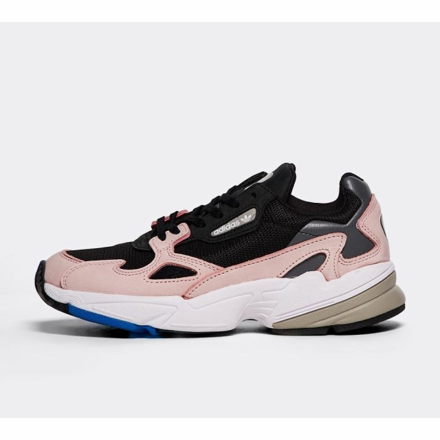 上品 アディダス adidas Originals レディース スニーカー シューズ adidas・靴 アディダス falcon Originals trainer Core Black/Core Black/Light Pink, 松之山町:75f7cff6 --- 1gc.de