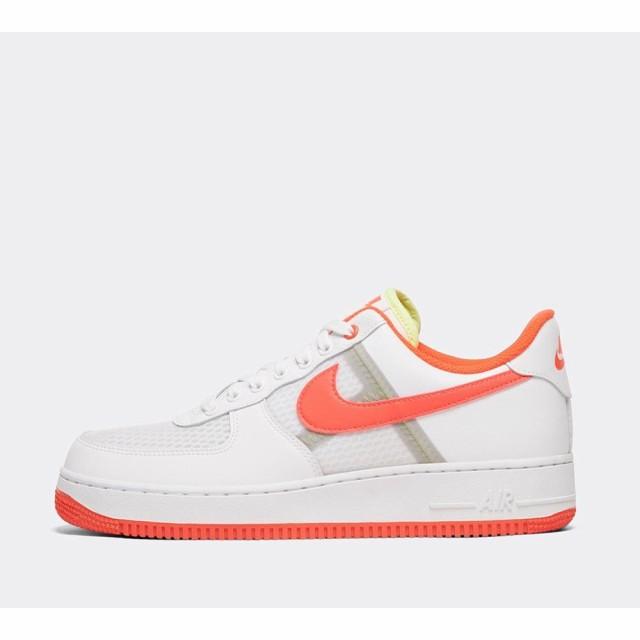 日本最大のブランド ナイキ Nike 1 メンズ スニーカー 1 スニーカー シューズ・靴 air force 1 07 lv8 1 transparent mesh trainer White/Bright Crimson, 瀬戸内れもん:fe915fcb --- buergerverein-machern-mitte.de
