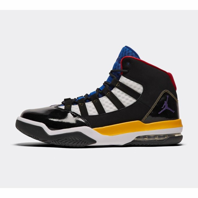 代引き人気 ナイキ ジョーダン Jordan メンズ スニーカー シューズ・靴 max aura trainer Black/Court Purple/White, アビコシ 1205a879