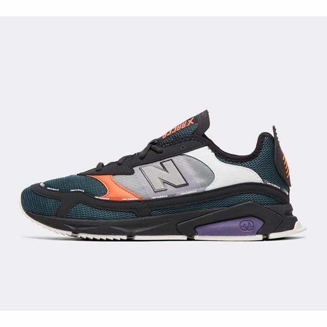 当季大流行 Black/Purple/Orange racer New trainer スニーカー シューズ・靴 ニューバランス Balance メンズ x-靴・シューズ