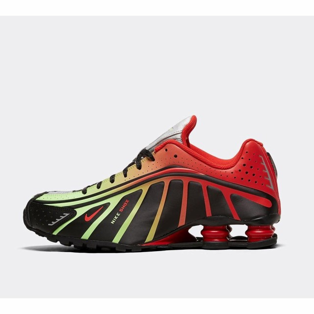 数量は多い  Black/Challenge r4 メンズ シューズ・靴 Nike スニーカー shox Red trainer ナイキ jr. neymar-靴・シューズ