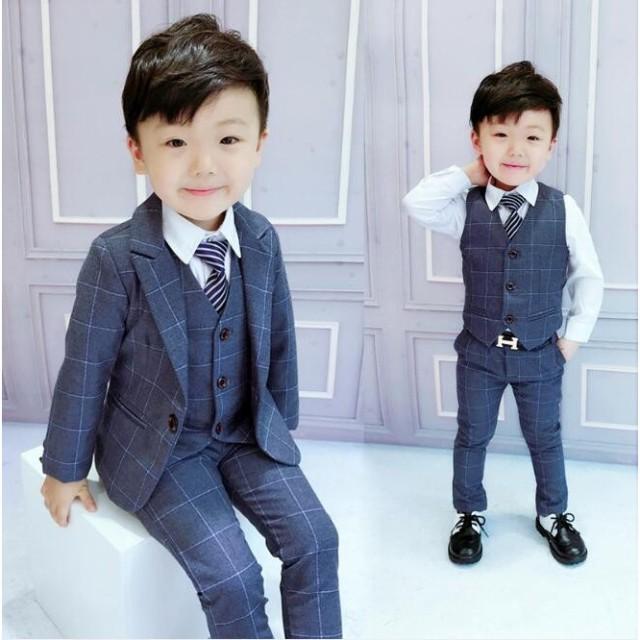 045211d707bc7 子供 男の子 フォーマル スーツ キッズスーツ 子供服 フォーマル スーツ ベビー服 上下セット おしゃれ 七五三 結婚