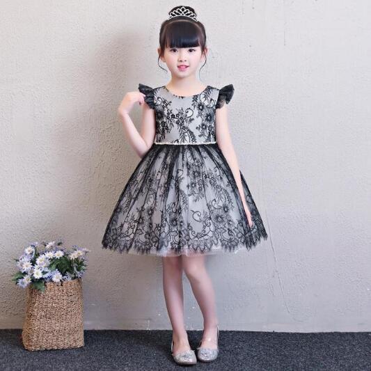 8393880d24216 子供ドレス子ども服フォーマルピアノ発表会ドレス 女の子ワンピースキッズダンス衣装 コンクールセレモニー