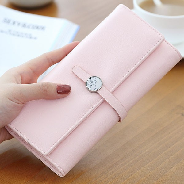 ピンク他全4色可愛いリボンレディース財布長財布レディース可愛いリポン長財布婦人財布