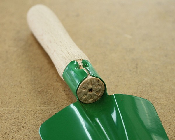 レデッカー ウッドハンドル シャベル 緑 21cm 37525 【正規販売代理店】【スコップ ガーデニング