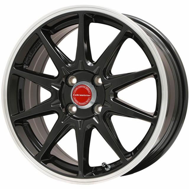 無料配達 DUNLOP ウインターマックス 02 WM02 165/65R15 15インチ スタッドレスタイヤ ホイール4本セット LMスポーツRS10(GB/P) 5J 5.00-15, きものLife be4544e2