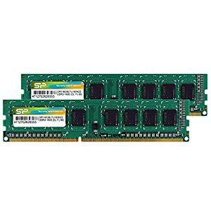 (品)シリコンパワー デスクトップPC用メモリ DDR3 1600 PC3-12800 8GB×2枚 240