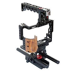 当社の (品)Filmcity (品)Filmcity VideoカメラケージStabilizer withトップハンドル& 15?mmレールロ, Take it easy:efea21af --- stunset.de