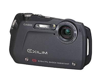 2020激安通販 【 良品】 CASIO デジタルカメラ EXILIM-G ブラック EX-G1BK, マンモス c7aa6595