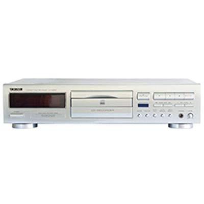衝撃特価 シルバー 【品】 TEAC CD-RW890-S CDレコーダー-映像プレイヤー・レコーダー