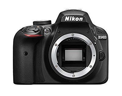 超安い品質 【 良品】 Nikon デジタル一眼レフカメラ D3400 ボディー ブラック D34, リブレイン da70b265