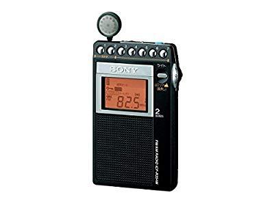 品質が 片耳 PLLシンセサイザーラジオ FM/AM/ワイドFM対応 SONY 【品】ソニー-映像プレイヤー・レコーダー