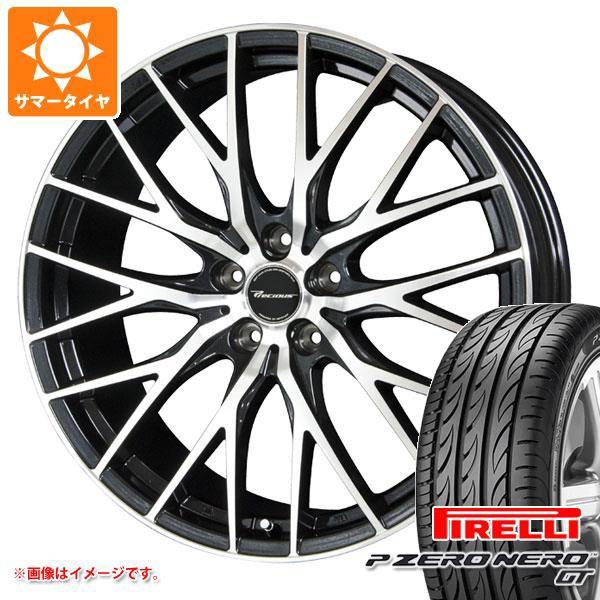 非常に高い品質 サマータイヤ 235/35R19 (91Y) XL ピレリ P ゼロ ネロ GT プレシャス HM-1 8.0-19 タイヤホイール4本セット, ミヤキグン e4a02398