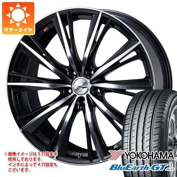 日本未入荷 225/45R19 96W XL ヨコハマ ブルーアースGT AE51 レオニス WX BKミラーカット 7.5-19, A-Zakka 35a64108