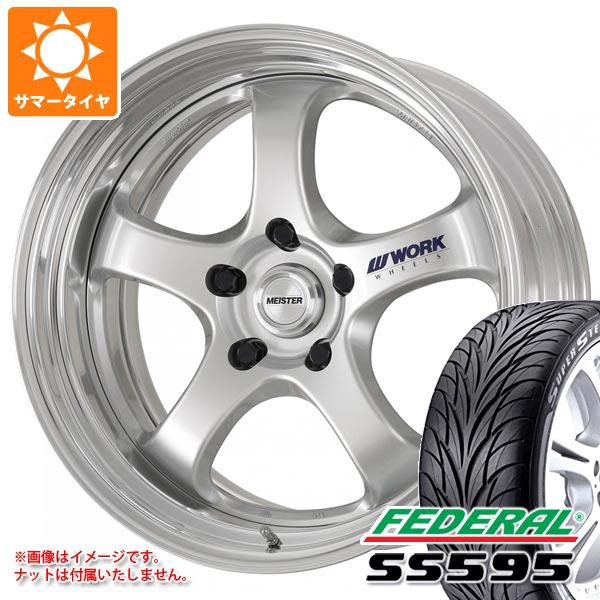 激安ブランド サマータイヤ 215/35R19 85W REINF フェデラル SS595 マイスター S1R 8.0-19 タイヤホイール4本セット, トマトショップ 2c933ac6