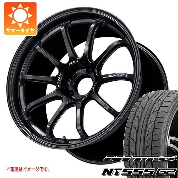 2019人気特価 サマータイヤ 265/35R18 97Y XL ニットー NT555 G2 アドバンレーシング RS-DF 9.0-18 タイヤホイール4本セット, 電球ショップ 97e0d1eb