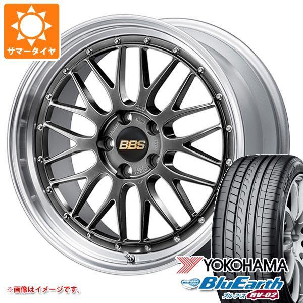 かわいい! サマータイヤ 235/65R17 108V XL ヨコハマ ブルーアース RV-02 BBS LM 7.5-17 タイヤホイール4本セット, きものワールド 53414fde
