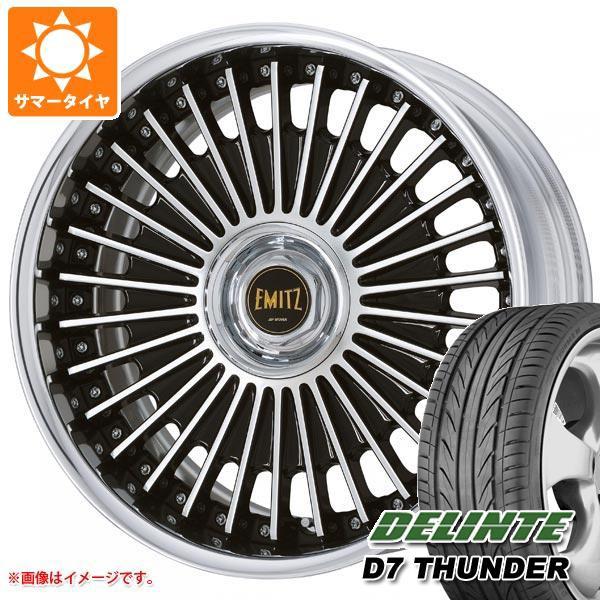 新品入荷 サマータイヤ 235/35R19 91W XL デリンテ D7 サンダー イミッツ 8.0-19 タイヤホイール4本セット, aNYtime b78d0cd1
