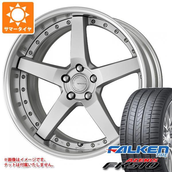 新しい サマータイヤ 245/35R20 (95Y) XL ファルケン アゼニス FK510 グノーシス GR203 8.0-20 タイヤホイール4本セット, 御宅家本舗 OTAKICK 67d4b70e
