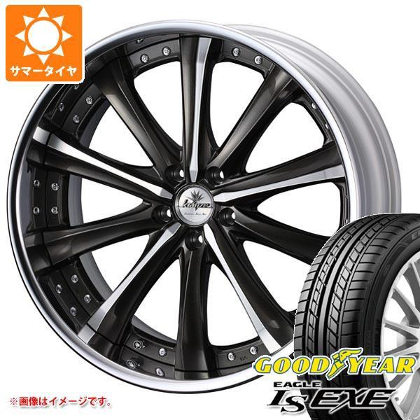 完売 サマータイヤ 245/40R20 99W XL グッドイヤー イーグル LSエグゼ クレンツェ マリシーブ 8.5-20 タイヤホイール4本セット, アキヤマムラ c00a21f4