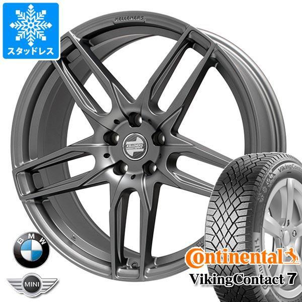 驚きの価格 BMW E90 3シリーズ用 スタッドレス コンチネンタル バイキングコンタクト7 205/50R17 93T XL ケレナーズ マインツ MT タイヤホイール4本, ブラックフォーマル B-GALLERY e5efffdf