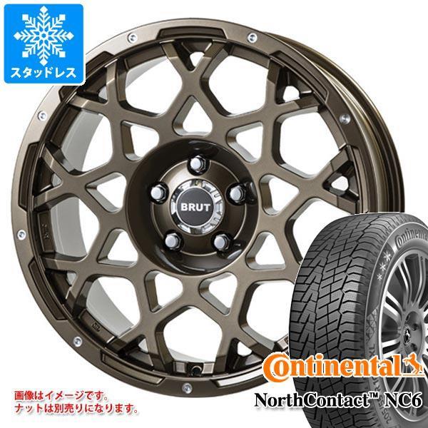 最高級 スタッドレスタイヤ コンチネンタル ノースコンタクト NC6 235/65R18 110T XL & ブルート BR-55 CG 8.0-18 タイヤホイール4本セット 235, 平田市 9145b3d1