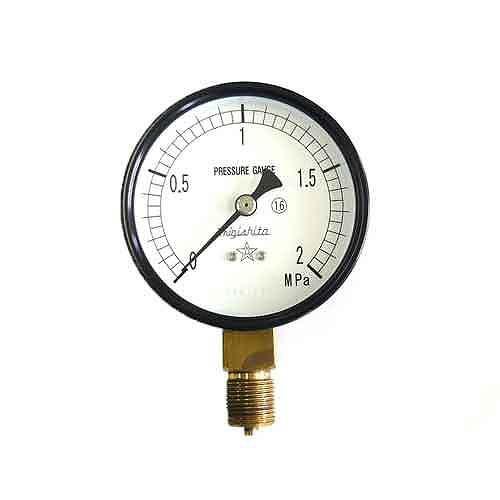 右下精器・汎用圧力計A75・G3/8・S−31・2.0MPA・電動工具・エアーツール・圧力計・機器・DIYツールの画像