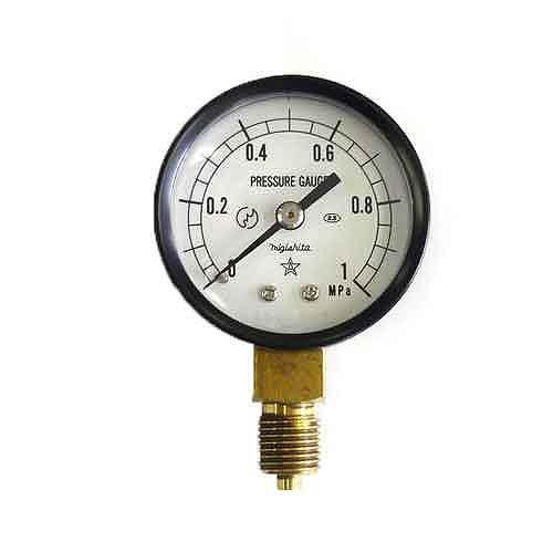 右下精器・汎用圧力計A50・G1/4・S−11・1.0MPA・電動工具・エアーツール・圧力計・機器・DIYツールの画像