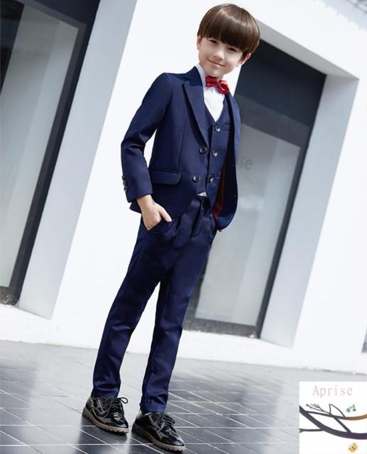 71215fd99a71f 男の子 スーツ 5点セット 卒業式 結婚式 男の子スーツ 入学式 発表会 ...