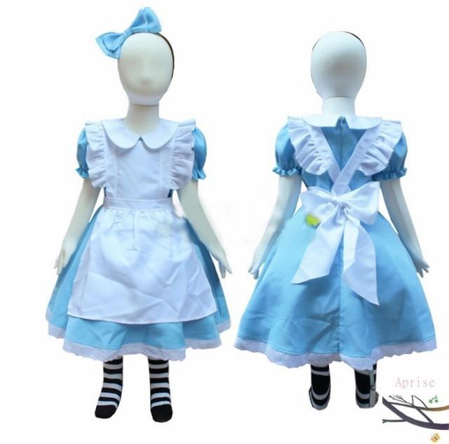 46b9aa723c7e1 ハロウィン アリス 子供 キッズ コスプレ 仮装 衣装 コスチューム ハロウイン ハロウィーン ファンタジードレス 不思議の国の