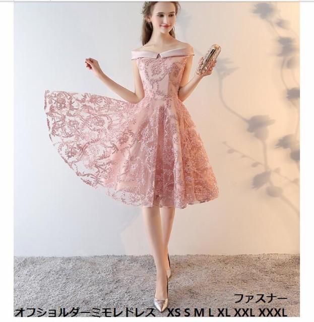 1789ccf9182cd レースパーティードレス ミモレ丈 ミニドレス結婚式 フォーマルドレス お呼ばれ服 ミセス 大きいサイズ